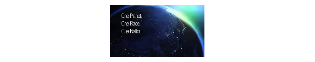 T-shirt One planet One race One nation